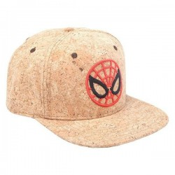 Spider-Man Kork Kappe | Spiderman Miles Badge MCU Avengers Snapback Caps Kappen Mützen