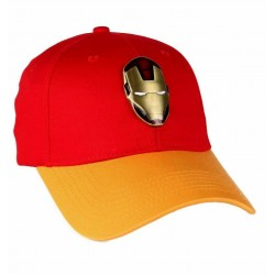 Iron Man Deluxe Cap | Marvel Comics Iron Man Baseball Caps Kappen Mützen