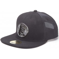 Darth Vader Cap mit Metall Logo | Dark Side Star Wars Trucker Snapback Caps Mützen Basecaps Hats