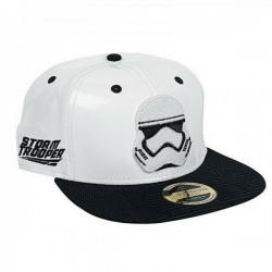 Stormtrooper Leder Caps | Star Wars Galactic Empire Snapback Cap