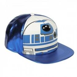 R2-D2 Mask Cap | Star Wars Droid R2D2 Snapback Caps Kappen Baseballcaps Mützen Basecaps Hats