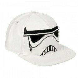 Stormtrooper Mask Cap | Star Wars Galactic Empire Trooper Snapback Caps Kappen Mützen