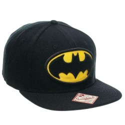 Batman schwarze Cap | Zertifizierte DC Comics Snapback Kappen