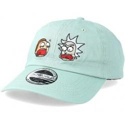 Rick And Morty Faces Cap | Rick and Morty Snapback Caps Kappen Basecaps Mützen