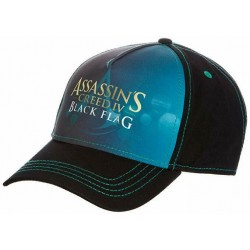 Assassins Creed 4 Basecap Kappe - Schwarz/Blau | UBISOFT Originale ASSASSINS Basecaps Snapbacks Mützen Hats