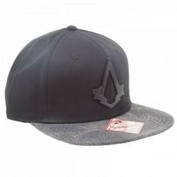 Assassins Creed Snapback - Schwarz/Grau | UBISOFT Originale ASSASSINS Basecaps Snapbacks Mützen Hats