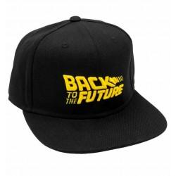 Zurück in die Zukunft Cap | Movie 3D Logo Snapbacks Caps