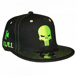 Skull Caps Punisher Schädel Biker Snapback Kappe Cap Baseballcap Basecap Mütze Hat Gorra by Sylt Brands