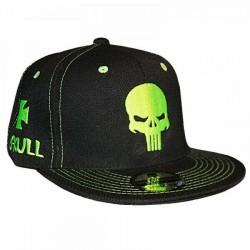 Skull Caps | Sylt Brands Punisher Schädel Biker Snapback Kappen Caps Mützen