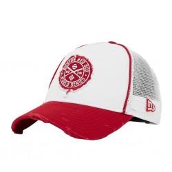 Boston Red Sox Trucker Cap | Rot/Weiß | New Era MLB RED SOX Basecaps Snapbacks Mützen Hats
