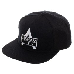 Arkham City Baseball Cap | DC Comics Batman Arkham City Snapback Cap
