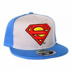 Superman Herren Snapback | DC Comics Superman Baseball Capa Kappen Hats Mützen mit 3D Logo