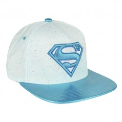 Supergirl Damen Cap | DC Comics Superman Snapback Cap Kappen Hats Mützen mit 3D Logo