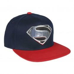 Superman Hologramm Kappe | DC Comics Superman Snapback Cap Kappen Hats Mützen mit 3D Logo