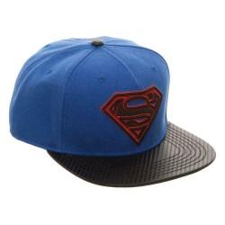 Superman Snapback Cap | DC Comics Superman Snapback Cap Kappen Hats Mützen mit 3D Logo
