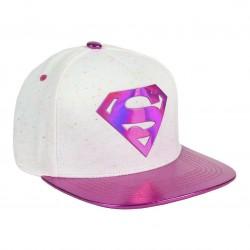 Supergirl Hologramm Frauen Cap | DC Comics Superman Snapback Cap Kappen Hats Mützen mit 3D Logo