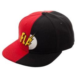 The Flash Two Face Cap | DC Flash Snapback Caps Kappen Mützen Basecaps Hats