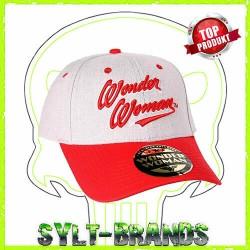 Wonder Woman DC Comics Baseballcap Snapback Cap Kappe mit 3D Bestickung By Sylt Brands