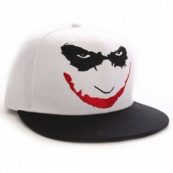 Heath Ledger Joker Cap | THE DARK KNIGHT DC Snapback Caps