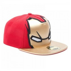 Iron Man Cap | Marvels Snapback Caps mit Iron Man Maske