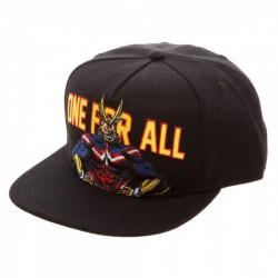 My Hero Academia Cap  One for All Snapback Caps Kappen Mützen Hats