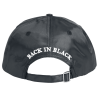AC/DC Back in Black Cap | WANTED! - 3D Logo Delux Raritäten