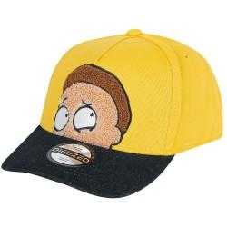 Morty Smith Cap | Rick and Morty Snapback Caps Kappen Basecaps Mützen