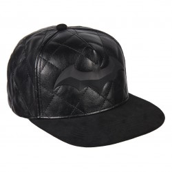 Batman Leder Basecap | DC Comics Batman Cosplay Snapback Caps