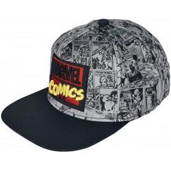Marvel AOP Logo Caps | Offizielle MARVEL UNIVERSE Retro Snapback Cap