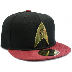 Star Trek Scotty Cap | Snapback Caps mit Metall Logo