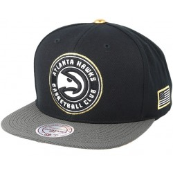 Atlanta Hawks NBA Cap | Mitchell & Ness Lizenzierte Baseball Caps