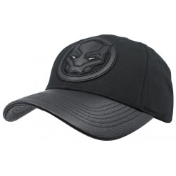 Black Panther Marvel Comics Endgame Snapback Cap Kappe mit 3D Bestickung By Sylt Brands