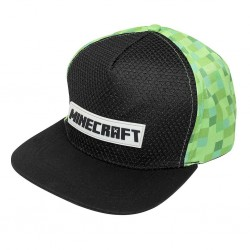 Minecraft Gummi Patch Cap | Limitierte Original Creeper Snapback