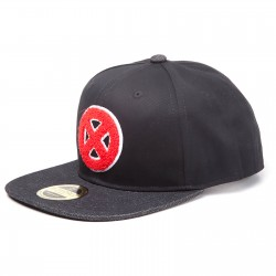 Marvel X-Men Cap | Original Herren Big X Logo Snapback Caps