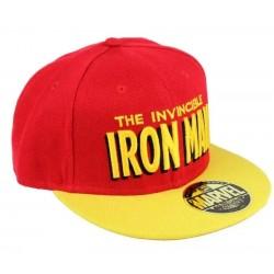 Invincible Iron Man Cap | Marvel Comics Iron Man Snapback Caps Kappen Baseball Caps Mützen