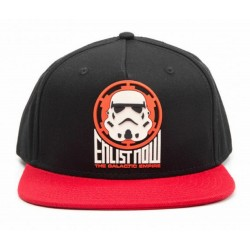 Stormtrooper Enlist Now Caps | Star Wars Galactic Empire Snapback Cap