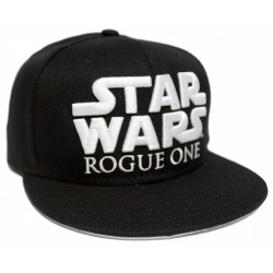 Rogue One 3D Logo Cap | A Star Wars Story Edition Snapback Kappe