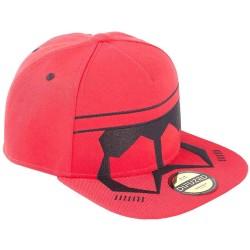 Sith Red Trooper Cap | Star Wars Galactic Empire Snapback Caps Kappen Mützen