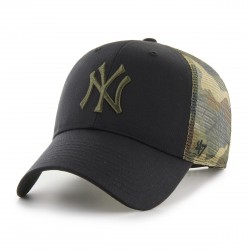 New York Yankees Trucker Cap | Schwarz/Grün | Original '47™ MVP MLB YANKEES Basecap