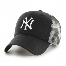 New York Yankees Trucker Cap | Schwarz/Grau/Weiß | Original '47™ MLB YANKEES Basecap 1