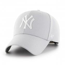 New York Yankees Cap | Hellgrau/Weiß | Original '47™ MLB YANKEES Basecaps Snapbacks Mützen Hats