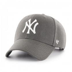 New York Yankees Cap | Dunkelgrau/Weiß | Original '47™ MLB YANKEES Basecaps Snapbacks Mützen Hats