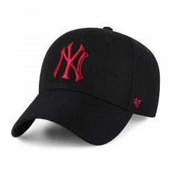 New York Yankees Cap | Schwarz/Bordeauxrot | Original '47™ MLB YANKEES Basecap