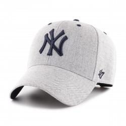 New York Yankees Cap | Metallicgrau/Marineblau | Original '47™ MLB YANKEES Basecaps Snapbacks Mützen