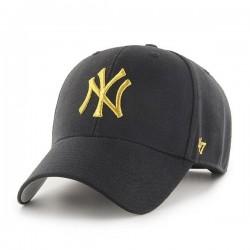 New York Yankees Cap | Schwarz/Goldmetallic | Original '47™ MLB YANKEES Basecaps Snapbacks Mützen