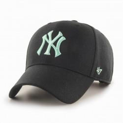 New York Yankees Cap | Schwarz/Mintgrün | Original '47™ MLB YANKEES Basecaps Snapbacks Mützen Hats