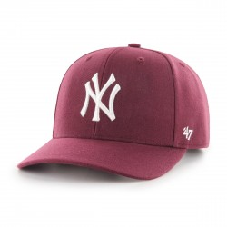 New York Yankees Cap  BordeauxrotWeiß  Original '47™ DP MLB YANKEES Basecap - Sylt Brands Online Shop 1