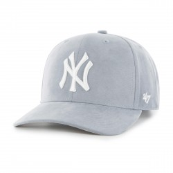 New York Yankees Cap | Hellgrau/Weiß | Original '47™ DP MICROFASER MLB YANKEES Basecap