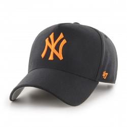 New York Yankees Cap | Schwarz/Neonorange | Original '47™ MLB YANKEES Basecaps Snapbacks Mützen
