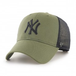 New York Yankees Trucker Cap | Olivengrün/Schwarz | Original '47™ MLB YANKEES Basecaps Snapbacks Mützen